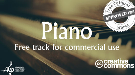 Piano – Free Track For Commercial Use